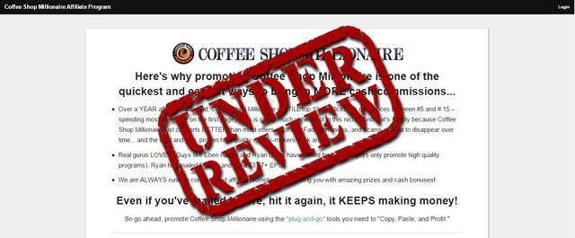 Honest Coffee Shop Millionaire Review