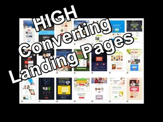 High Converting Landing Pages