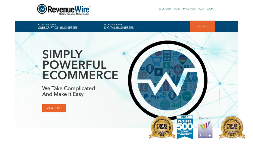 Top Ten Affiliate Programs RevenueWire