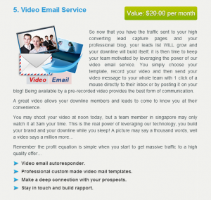 Video Email Service